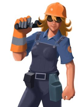 Team Fortress 2 - Femgie by BW-Straybullet