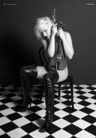 LMC_NUDE 01  'The Musician 01' by ChrisM-Erotic