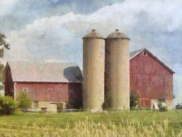 Wisconsin Dairyland Farm 1 by photoman356