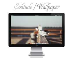 Solitude Wallpaper by bokehlicia