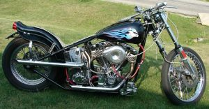 Harley-Davidson Hog Motorcycle by FantasyStock