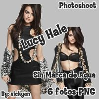 Pack de Fotos PNG Lucy Hale by vickyen
