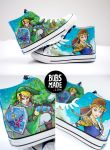 Link X Zelda Shoes by Bobsmade