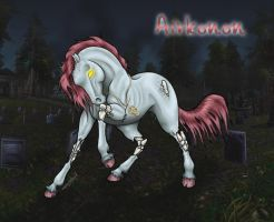 Airkonon - Equine and WoW by ArienRavyn