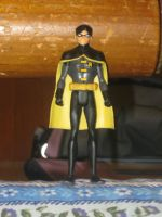 Young Justice Dick Grayson Action Figure by moulinrougegirl77