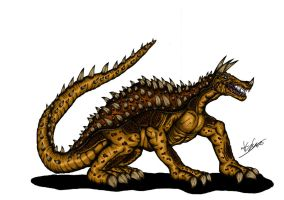 JLKE Anguirus by Alex-KZG