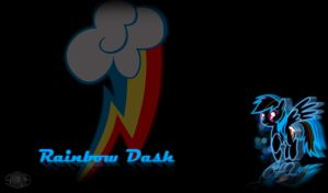 Rainbow Dash Wallpaper by InternationalTCK