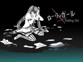 Rolling Girl by silpholion