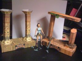 Tomb Raider I Lara Lined by SaschaCraft