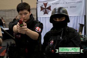 Umbrella Corps by LuckyMintPhoto