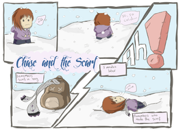 Chase and the Scarf by Idle-Emma