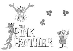 pink panther by chlorene