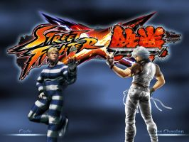 Cody vs Lee - SFxTekken by khotebabu