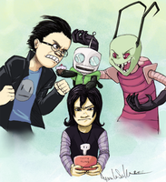 Invader Zim real lifed by Yanimae