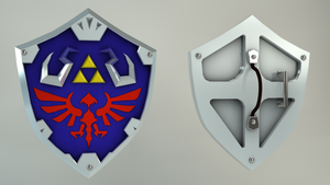 Hylian Shield by Aeonhem