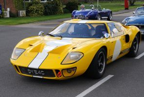 Ford GT40 Front by pma27