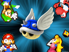It's the Blue Shell!!! by babyluigi957