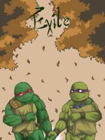 TMNT-On The Way to Fall by tmask01