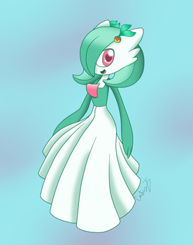 Holly the Gardevoir by ProjectSNT