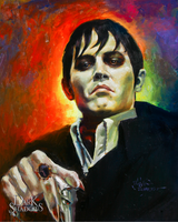 The New Barnabas Collins in color by AbdonJRomero