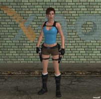 XNA Lara Croft by X-N-A