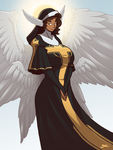 Hereith Angel by Blazbaros