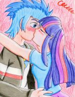 Just Kiss *Contest* by The1King