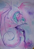 pink dragon by daisyamnell