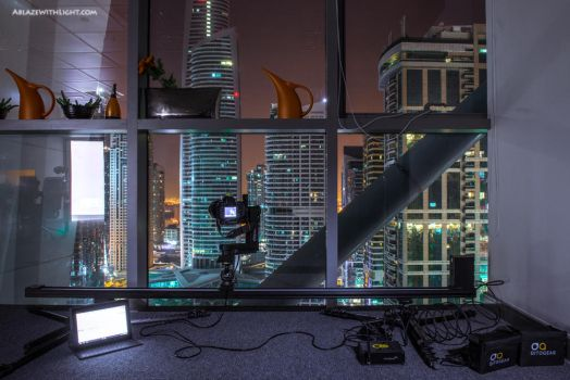 Another night in the office by VerticalDubai