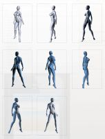 Genesis 2 Female Pose Reference Series 500 by cgartiste