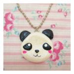 Kawaii Panda Necklace by ChibiWorks