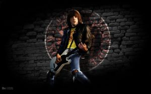 Johnny Ramone by Hermosilla