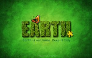Earth is our home by Liuanta