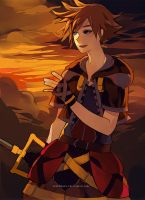 Sora Sunset by chuwenjie