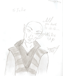 Solas In An Ugly Sweater For Jules by bairdduvessa