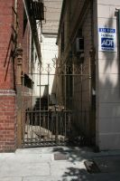 Gate to Alley by newdystock