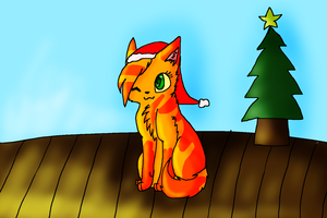 Merry Christmas From Lightningstar 2013 by X-CoyoteFeathers-X