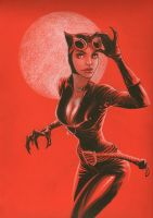 Catwoman by MicahJGunnell