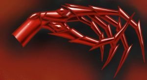 Crimson Claws for Black-Richa by M-Skirvin
