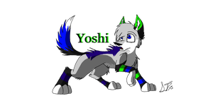 Yoshi by Flame-Expression