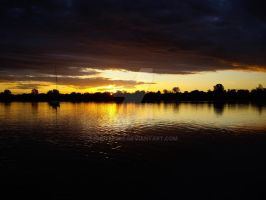 Rio Negro Sunset by ehofferle