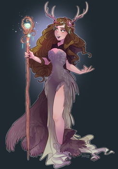 Sorceress by Skirtzzz