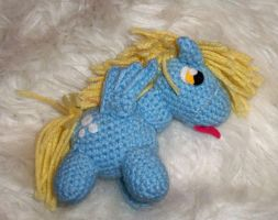 6'' Derpy Hooves side view-Doll For Sale by SunnyFaceMLP
