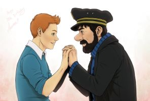 Tintin - Happy Birthday by Kumagorochan