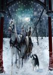 Moonlight Sleigh Ride by amethystmoonsong