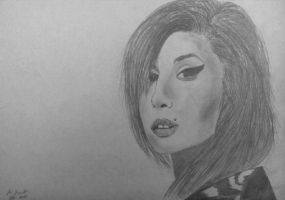 Amy Winehouse by MarijaJojic