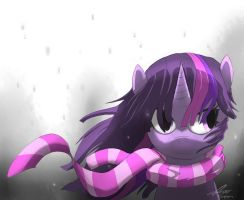 Gray snow. by stupidyou3