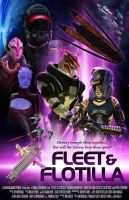 Fleet and Flotilla Movie Poster by thomasthecat
