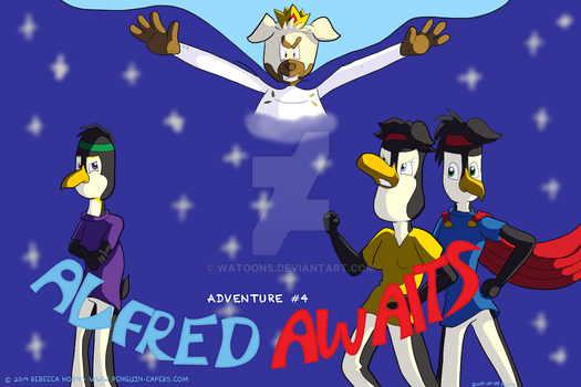 Penguin Capers Adventure 4: Alfred Awaits by HornCartoons