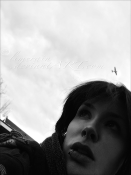 Thoughts Flying Overhead by LimERaiN